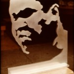 """Mohammad Ali Sculpture"" 1973"